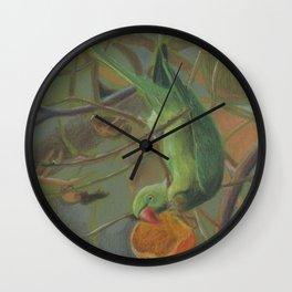 parrot 1 Wall Clock