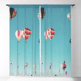 Hot Air Balloon Ride Blackout Curtain
