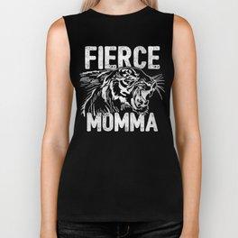 Fierce Momma / Red Biker Tank