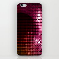 disco iPhone & iPod Skins featuring Disco by frenkelvic