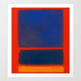 Rothko Inspired #7 Art Print