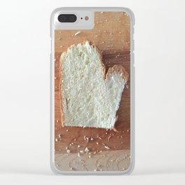 Mitten State #puremichigan Clear iPhone Case