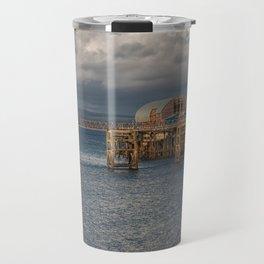 Mumbles pier and lifeboat station Travel Mug