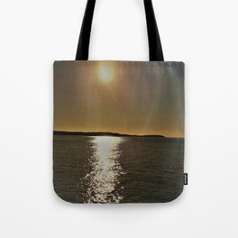 golden waters Tote Bag