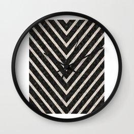 BLACK STRIPE,Inspirational Quote,Printable Art,Fashion Decor,Office Decor,Home Decor,Fashion Print Wall Clock