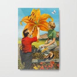 Sustainable Life Metal Print