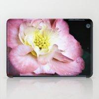 beth hoeckel iPad Cases featuring Beth March - Pink Begonia by Regina Mountjoy