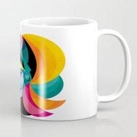 goddess Mugs featuring Goddess by Alvaro Tapia Hidalgo
