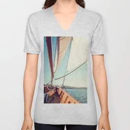 Setting Course x Nautical Art Unisex V-Neck