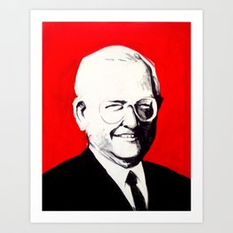 Dave Thomas, Founder of Wendy's Art Print