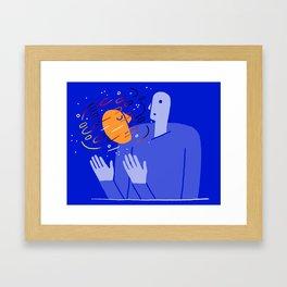 Prophet Visit Framed Art Print