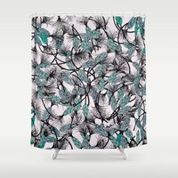 africa Shower Curtains featuring AFRICA by Maria Pagola