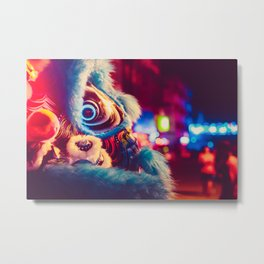 Chinese New Year 2018 Metal Print