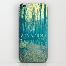 Wander in the Woods iPhone Skin