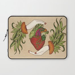 Eating is caring Laptop Sleeve