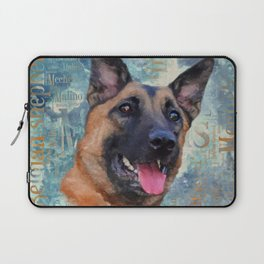 Malinois  - Belgian shepherd - Mechelaar Laptop Sleeve