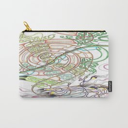 Coffee swirl Carry-All Pouch