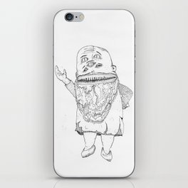 BOOGER KING. iPhone Skin