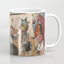 Tom Waits' Melodramatic Nocturnal Scene Coffee Mug