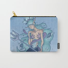Wanda The Warrior Mermaid Carry-All Pouch