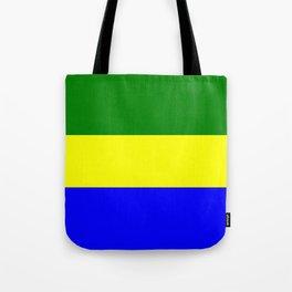 Flag of Gabon Tote Bag