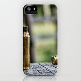 Empty Shell iPhone Case