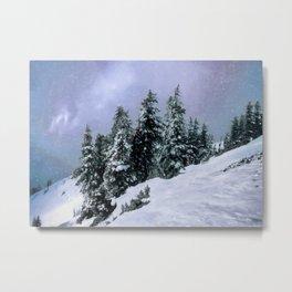 Hidden Peak Metal Print