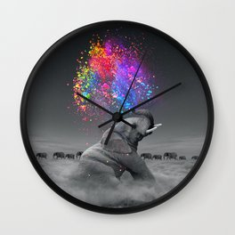 True Colors Within Wall Clock