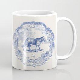 DelftWare Wolf Coffee Mug