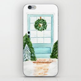 Southern Blue Door iPhone Skin