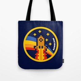 DogeCoin Up Rocket Tote Bag