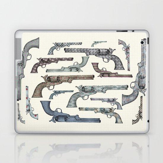 My vintage collection of pistols Laptop & iPad Skin