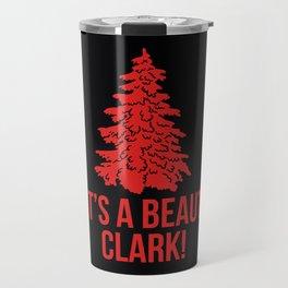 it's a beautclark Travel Mug