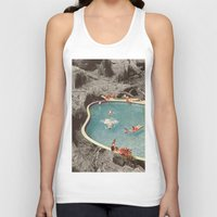 eddie vedder Tank Tops featuring is this the place that they call paradise? by Jesse Treece