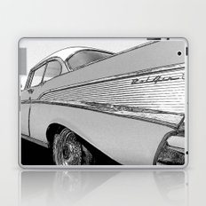 Chevrolet Bel Air 1957 - Pencil Sketch Style Laptop & iPad Skin