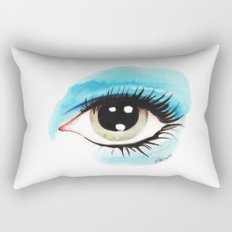 Bowie - Life on Mars? (Left Eye) Rectangular Pillow