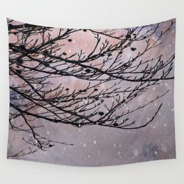 Dusky Winter Days Wall Tapestry