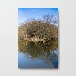 Central Park Autumn | New York USA America |  Photo Print | Fall- Color - travel - photography Metal Print