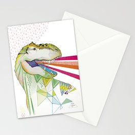 Dinosaur / August Stationery Cards