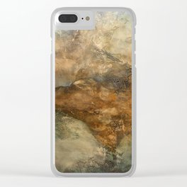 Throes Clear iPhone Case