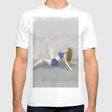 Dancing in a Fog Mens Fitted Tee MEDIUM White