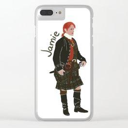 Jamie Fraser (Outlander) Clear iPhone Case