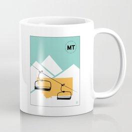 Skiing in Montana Coffee Mug