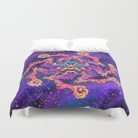 demon Duvet Covers featuring Star Demon by xzyolotl