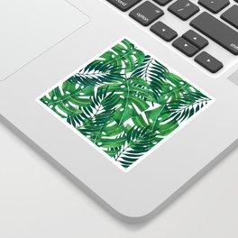 Jungle leaves Sticker