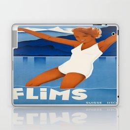 Vintage poster - Switzerland Laptop & iPad Skin