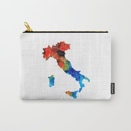 Italy - Italian Map By Sharon Cummings Carry-All Pouch