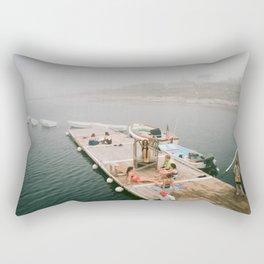 summer at star island Rectangular Pillow