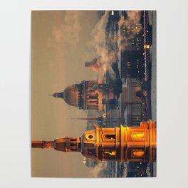 St. Petersburg leningrad Poster