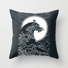 Waterbending Throw Pillow
